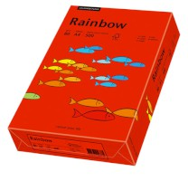 Multifunktionspapier Rainbow, DIN A4, 80 g/qm, intensivrot, 500 Blatt